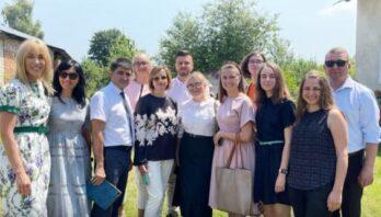 Міністр соціальної політики відвідала відкритий у центрі надання соціальних послуг Простір дитячого та підліткового розвитку у м. Рудки