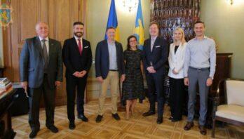 Максим Козицький зустрівся з Головою Офісу Ради Європи в Україні Стеном Ньорловим