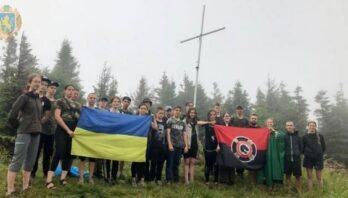 Молодь Львівщини проходить вишкіл у «Сколівських Бескидах»