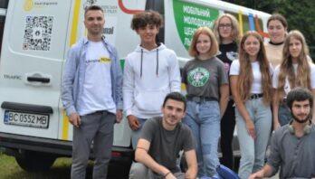 Мобільний молодіжний центр відвідав Старосамбірську громаду