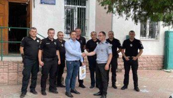 Працівників Мостиського відділення поліції привітали з професійним святом
