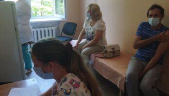 Сьогодні, у  місті Яворові розпочалась вакцинація Pfizer
