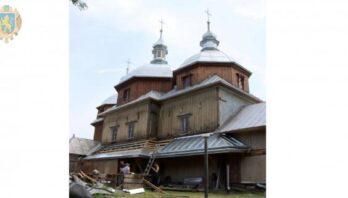 У Цеблові реставрують дерев'яну церкву Косми і Даміана