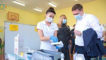 Максим Козицький ознайомився з роботою центрів вакцинації у Стрию, Дрогобичі та Трускавці
