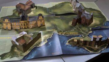 На «Форумі видавців» у Львові презентують найтехнологічнішу книгу з 3D-ілюстраціями «Палаци і фортеці України»