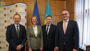 Максим Козицький зустрівся із Надзвичайним і Повноважним Послом Республіки Австрія в Україні та представниками австрійських підприємств