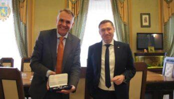 Максим Козицький зустрівся із Надзвичайним і Повноважним Послом Королівства Нідерландів в Україні