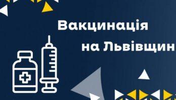 7438 осіб в області отримали щеплення від ковіду за останню добу