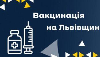 3164 особи в області отримали щеплення від ковіду за останню добу