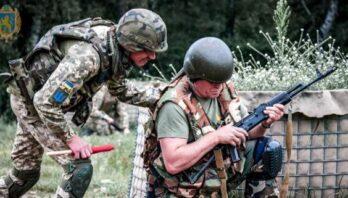 Близько 200 резервістів та військовозобов'язаних: на Львівщині відбулись Єдині стрілецькі дні