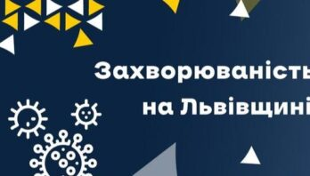 За вчора на Львівщині зафіксували 449 нових випадків Covid-19. Госпіталізували 143 особи