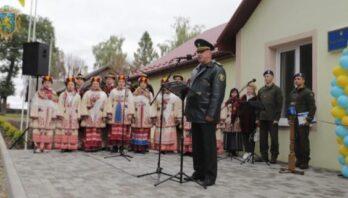 У Дрогобичі відкрили оновлену казарму для військової частини Національної гвардії