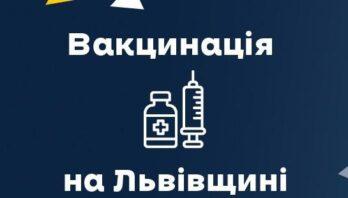11 382 особи на Львівщині вакцинувалися від ковіду за останню добу