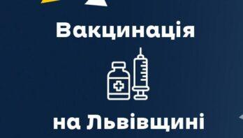 Вчора від ковіду вакцинувалися 1929 мешканців Львівщини