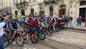 Осіння «Львівська Сотка» зібрала понад 700 велосипедистів