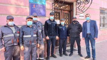 У м. Яворові відбулось позапланове профілактичне відпрацювання щодо запобігання виникненню пожеж