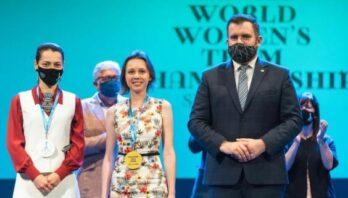 Шахістка Марія Музичук виборола золото на командному чемпіонаті світу
