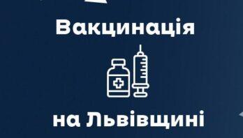Вчора від ковіду вакцинували 7618 мешканців області
