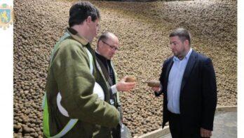 У Чукві відкрили одне з найбільших в Україні картоплесховищ
