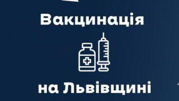В області за добу вакцинували майже 6,5 тисяч осіб