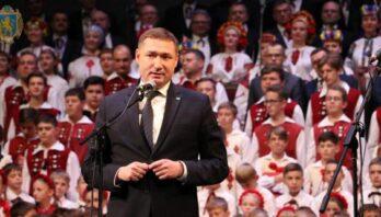 Максим Козицький привітав «Дударик» із 50-річчям