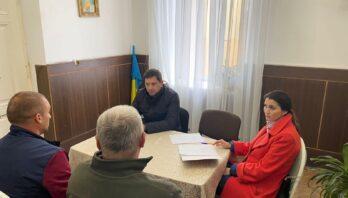 Заступник голови райдержадміністраці Андрій Тиндик провів особистий прийом громадян