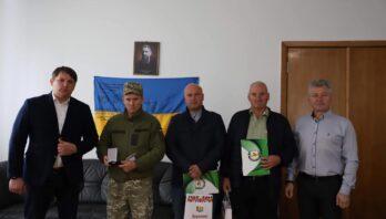 Військовослужбовців особового складу військової частини А7078 привітали зі святом