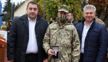 Військовослужбовців 184 навчального центру привітали з Днем захисників та захисниць